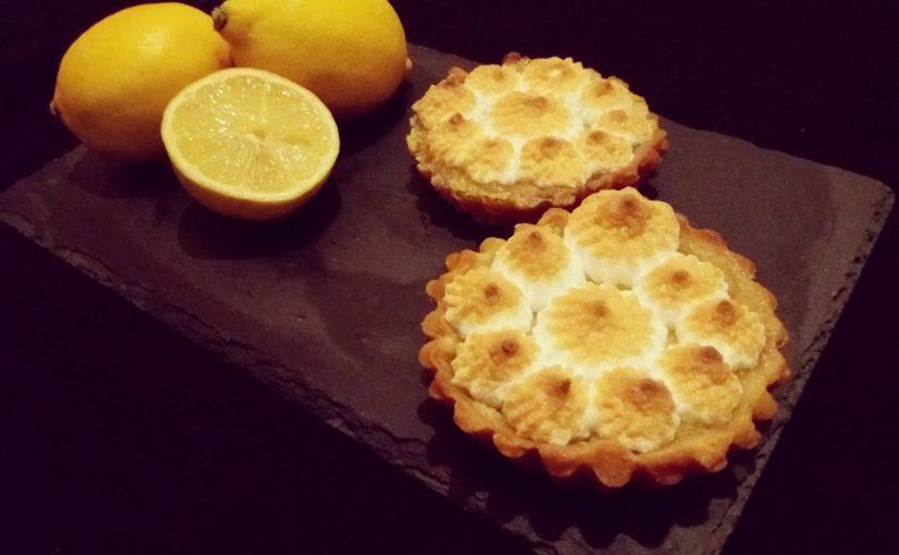 Tartaletky scitrónovým krémem / Tartellette au citron